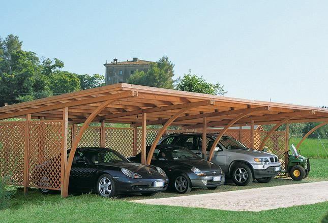 Esterno sito mplanamente srls for Carport box auto legno lamellare prezzi